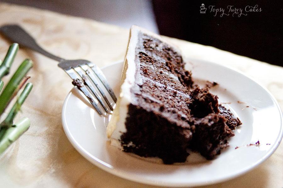 Chocolate-cake-chocolate-ganache