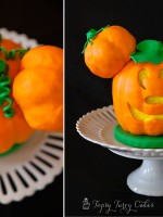 Topsy-Turvy-Cakes-mickey-mouse-jack-o-lantern