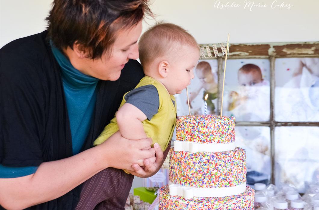 sprinkles birthday cake ashlee marie cakes