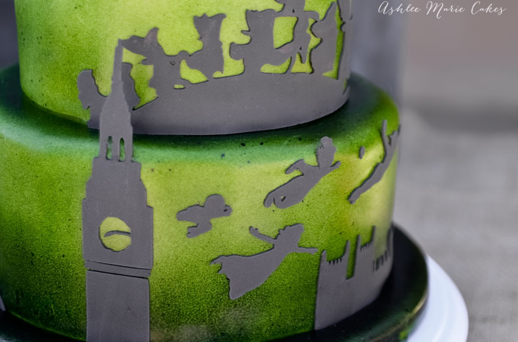 utah-cake-decorator-themed-party-cakes-peter-pan-shadows-ashlee-marie-cakes